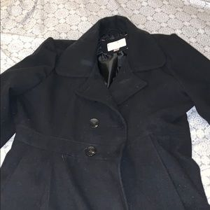 Xhilaration Black Peacoat